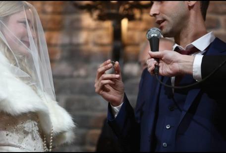 חתונה קטנה בתל אביב חתן וכלה